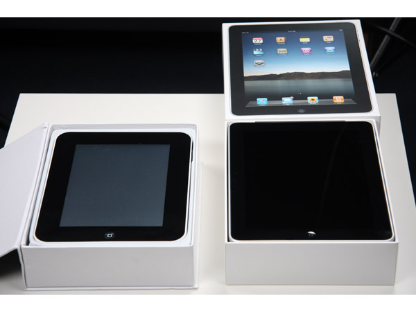 How to spot a fake iPad internet tablet