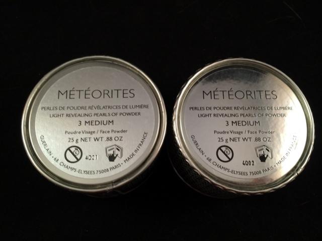 How to spot real fake guerlain meteorites