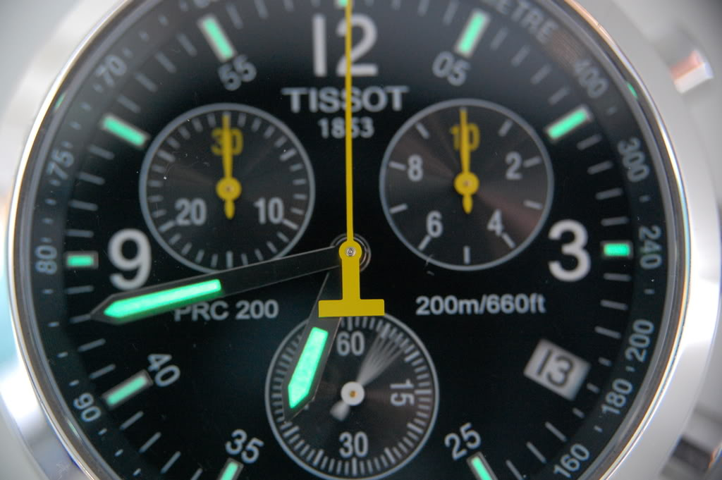 How to spot fake Tissot PRC-200 watch and identify if genuine or replica