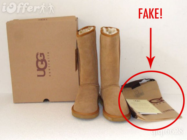 how to tell fake uggs from real uggs pictures