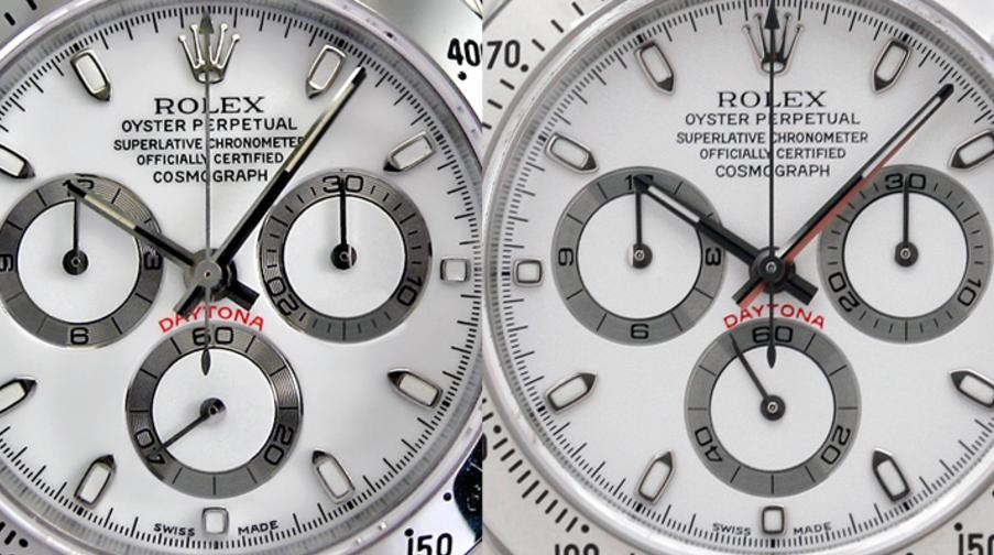 How to spot fake Rolex Daytona watch, to recognize counterfeit and identify authentic Rolex Daytona