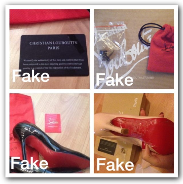 5001f03e7a09 How to spot fake Christian Louboutin shoes