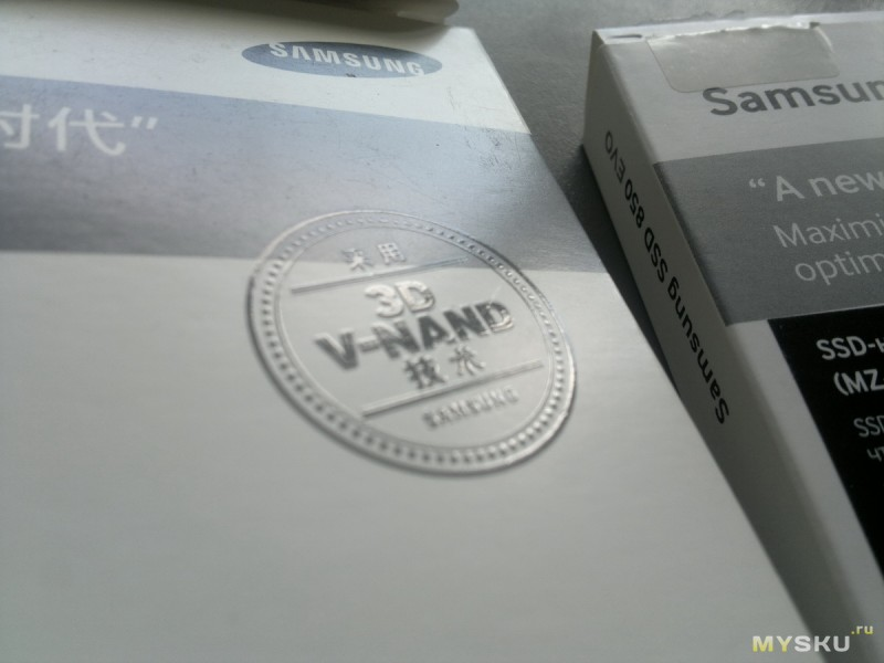 How to spot fake SSD Samsung 850 EVO disk