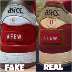 How to spot fake Asics Gel Lyte 3 III sneakers