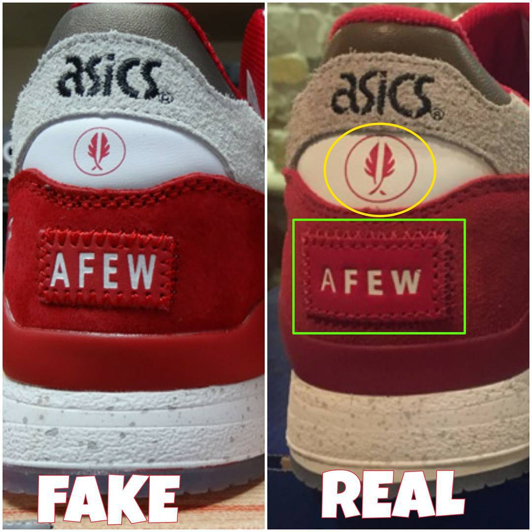 4f70ddae21a How to spot fake Asics Gel Lyte 3 III sneakers | iSpotFake. Do you?