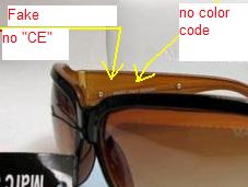 How to spot fake Marc Jacobs sunglasses
