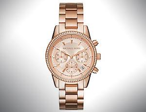 How to spot Michael Kors women's wristwatch