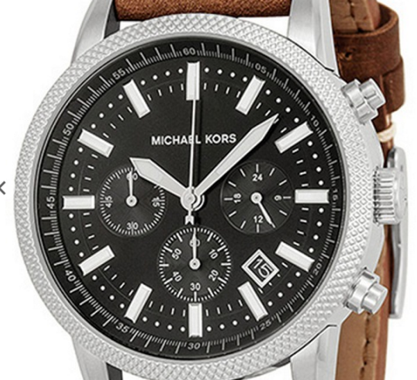 How to spot Michael Kors women's wristwatch