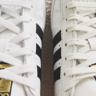 How to tell if Adidas Superstar shoes are fake or real