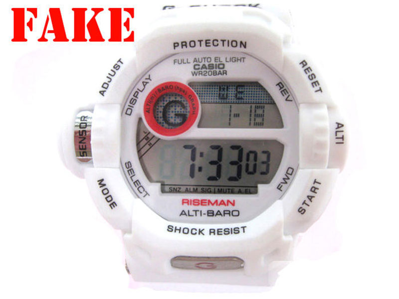 How to recognize counerfeit G-Shock watch